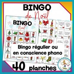 Bingo de Noël + option conscience phono