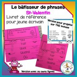 Bâtisseur de phrases - St-Valentin