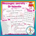 Messages secrets - St-Valentin