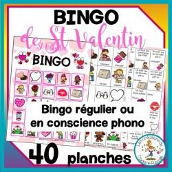 Bingo de St-Valentin