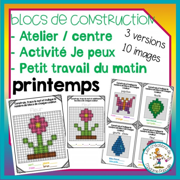 Atelier de blocs de construction - Printemps