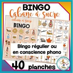 Bingo - Cabane à sucre