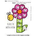 feuilles de motivation - printemps