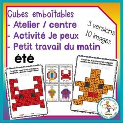 Atelier de cubes emboitables - été
