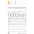 Cahier de calligraphie cursive - qc - 2 versions