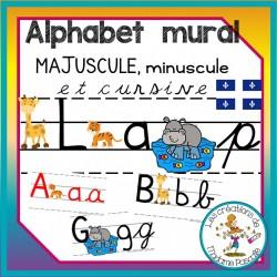 Alphabet mural - trottoirs qc