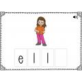 Étude de mots - blocs 1 à 4 - Boom Cards