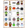 Bingo d'Halloween + option conscience phonologique