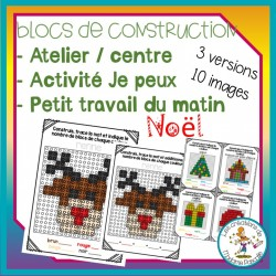 Atelier de blocs de construction - Noël