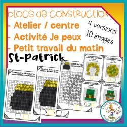 Atelier de blocs de construction - St-Patrick