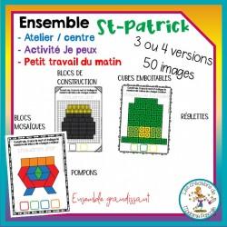 Ensemble d'ateliers sur la St-Patrick