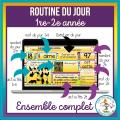 Ensemble - Routines du jour 1re-2e - 180 jours