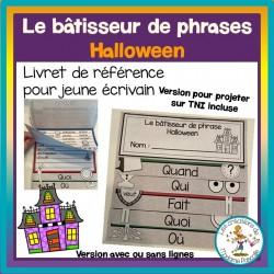 Le bâtisseur de phrases - Halloween