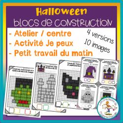 Atelier de blocs de construction - Halloween