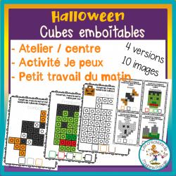 Atelier de cubes emboitables - Halloween