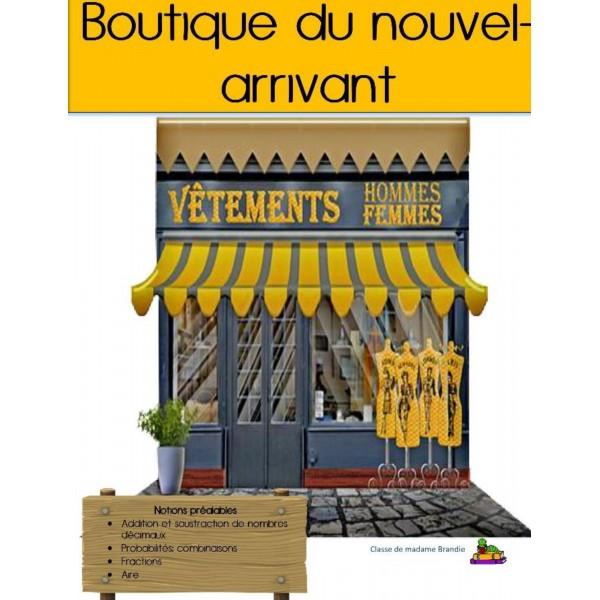 C1-Situation-problème: Boutique du Nouvel-Arrivant