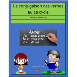 Exercices - verbes conjugués 2e cycle