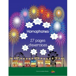 Homophones: cahier d'exercices
