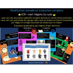 ECR: Planification annuelle complète (religions)