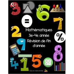 Révision mathématiques 3e-4e année