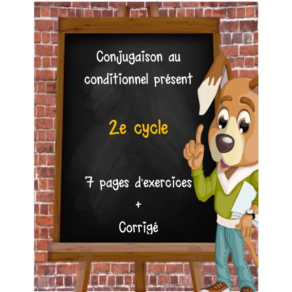 Conjugaison au conditionnel présent
