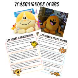 Présentations orales M. Chatouille et Mme Bonheur