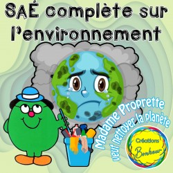 SAÉ sur le thème de l'environnement