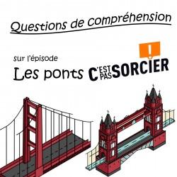 Les ponts - Compréhension