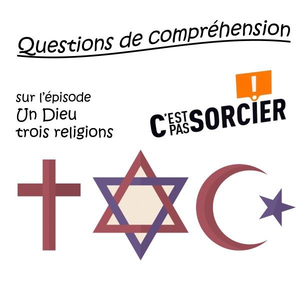 Un Dieu trois religions - Compréhension