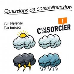 La météo - Compréhension