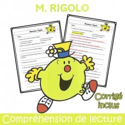 M. Rigolo - Compréhension de lecture