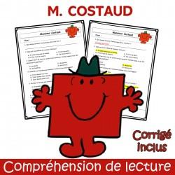 M. Costaud - Compréhension de lecture