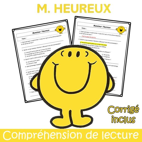 M. Heureux - Compréhension de lecture