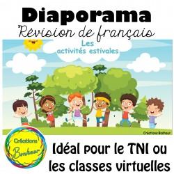 Diaporama - Le français en saison estivale