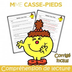 Mme Casse-Pieds - Compréhension de lecture