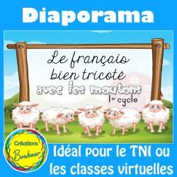 Diaporama - Le français bien tricoté