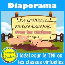 Diaporama - Le français en tire-bouchon