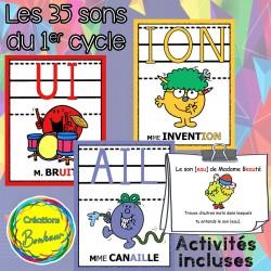 Les sons du 1er cycle - Affiches et activités