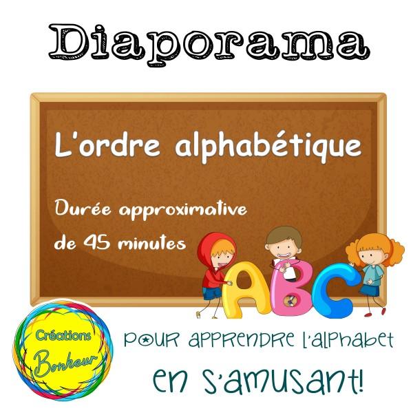 Diaporama - L'ordre alphabétique