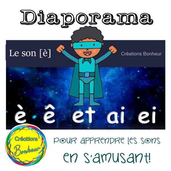 Diaporama - Le son «È»