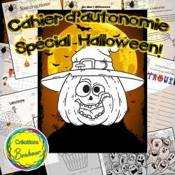 Cahier d'autonomie - Spécial Halloween