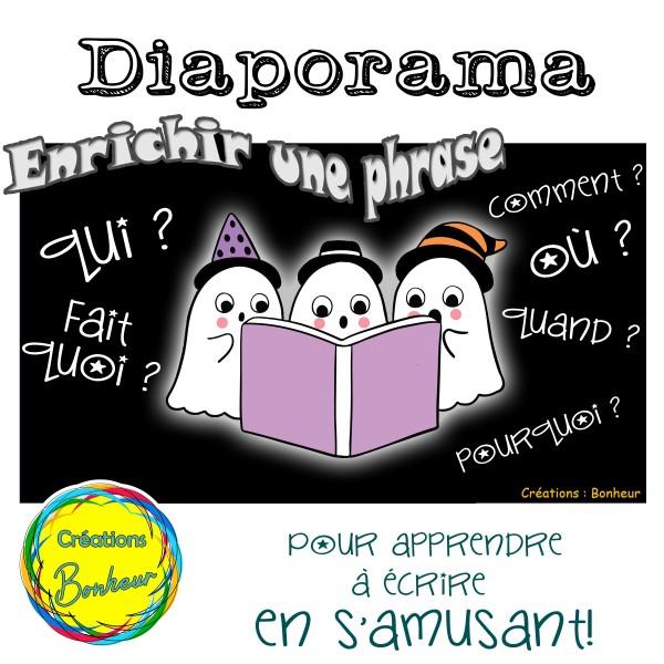 Diaporama - Enrichir une phrase