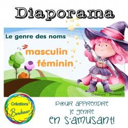 Diaporama - Le genre des noms