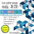 La phrase en 3D et images inspirantes