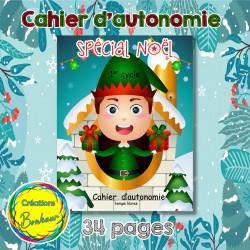 Cahier d'autonomie de Noël