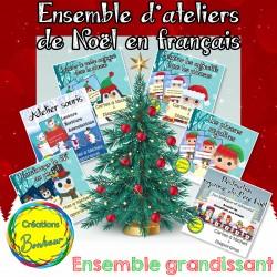 Ensemble d'ateliers de Noël (en français)