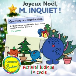 Joyeux Noël monsieur Inquiet