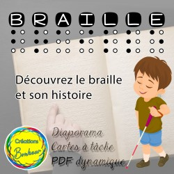 Le braille et son histoire - diaporama