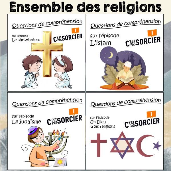 Les religions - Ensemble de compréhensions