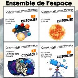 L'espace - Ensemble de compréhensions